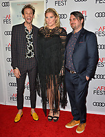 "LOS ANGELES, CA. November 08, 2018: Kesha, Stephen Wrabel & Drew Pearson at the AFI Fest 2018 world premiere of ""On the Basis of Sex"" at the TCL Chinese Theatre.<br /> Picture: Paul Smith/Featureflash"