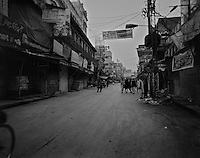 A street in Rawalpindi, Pakistan, on Thursday November 19 2009.