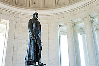 Interior, Jefferson Memorial, Washington DC, USA