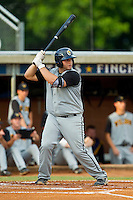 Jimmy Luppens #33 (Canisius) of the Wilson Tobs at bat against the High Point-Thomasville HiToms at Finch Field on June 17, 2013 in Thomasville, North Carolina.  The Tobs defeated the HiToms 3-2 in 11 innings.  Brian Westerholt/Four Seam Images