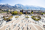 _RE_3997<br /> <br /> 1703-57 GCS Spring<br /> <br /> March 24, 2017<br /> <br /> Photography by Nate Edwards/BYU<br /> <br /> &copy; BYU PHOTO 2016<br /> All Rights Reserved<br /> photo@byu.edu  (801)422-7322