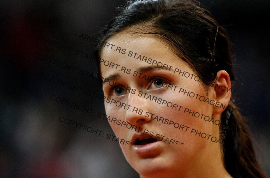 Tennis, FED CUP.Serbia Vs. Slovakia, .Bojana Jovanovska  Vs. Magdalena Rybarikova.Bojana Jovanovski.Beograd, 25.04.2010..foto: Srdjan Stevanovic/Starsportphoto ©