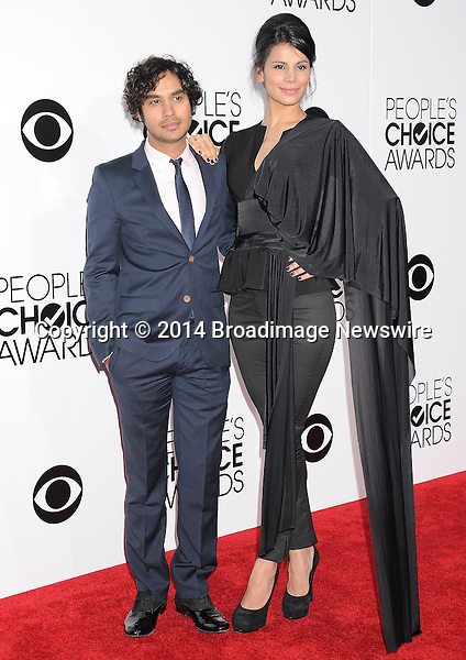 Pictured: Kunal Nayyar<br /> Mandatory Credit &copy; Gilbert Flores /Broadimage<br /> 2014 People's Choice Awards <br /> <br /> 1/8/14, Los Angeles, California, United States of America<br /> Reference: 010814_GFLA_BDG_214<br /> <br /> Broadimage Newswire<br /> Los Angeles 1+  (310) 301-1027<br /> New York      1+  (646) 827-9134<br /> sales@broadimage.com<br /> http://www.broadimage.com