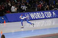 SPEEDSKATING: SALT LAKE CITY: 09-12-2017, Utah Olympic Oval, ISU World Cup, 1500m Men A-Division, Denis Yuskov (RUS), ©photo Martin de Jong