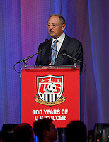 Dr. Robert Contiguglia. US Soccer held their Centennial Gala at the National Building Museum in Washington DC.