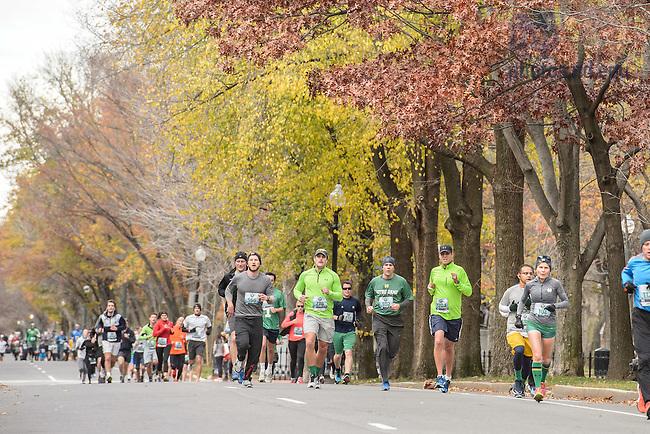 Nov. 21, 2015; Shamrock Series 5K in Boston (Photo by Matt Cashore/University of Notre Dame)