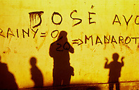 In Antananarivo, Madagascar in 1996 while retracing Mark Twain's route around the world