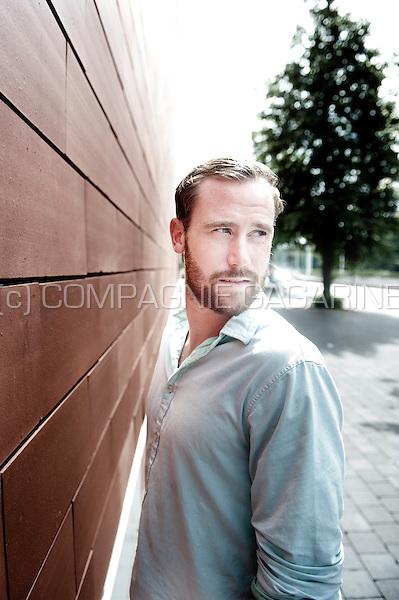 Belgian football player Bart Buysse (Belgium, 15/08/2013)
