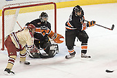 Ryan Dingle, Eric Leroux, Brian Carthas - The Princeton University Tigers defeated the University of Denver Pioneers 4-1 in their first game of the Denver Cup on Friday, December 30, 2005 at Magness Arena in Denver, CO.