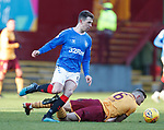 15.12.2019 Motherwell v Rangers: Ryan Jack and Allan Campbell