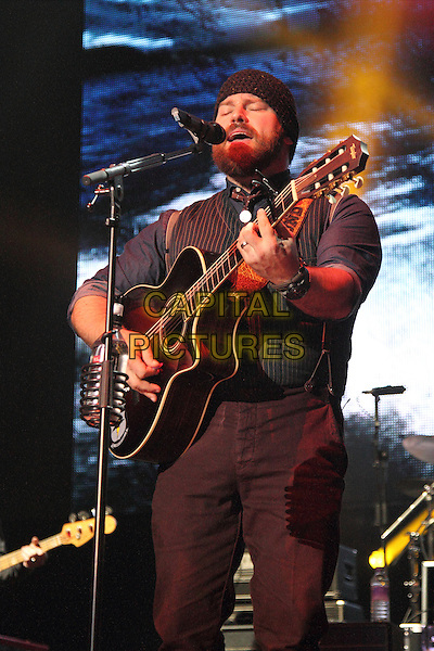 LONDON, ENGLAND - MARCH 14: Zac Brown Band at C2C, Country to Country - Day One -  at the O2 Arena, London on March 15, 2014 in London, England.<br /> CAP/ROS<br /> &copy;Steve Ross/Capital Pictures