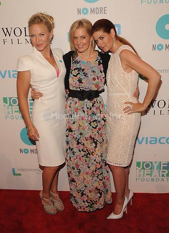 New York,NY-May 29: Kelli Giddish,Ali Wentworth and Debra Messing Attends Mariska Hargitayís Joyful Heart Foundation 10th anniversary  in New York City on May 29, 2014. Credit: John Palmer/MediaPunch