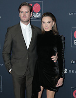 17 November 2019 - Los Angeles, California -Armie Hammer, Elizabeth Chambers. Go Campaign's 13th Annual Go Gala held at NeueHouse Hollywood. Photo Credit: PMA/AdMedia