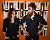 Michelle Temple and Kevin Clark of Black Skies, Chapel Hill, NC, Friday, Nov. 4, 2011. ..Photo by D.L. Anderson.