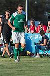 04.09.2018, Hoheellern-Stadion, Leer, GER, FSP, Werder Bremen (GER) vs FC Emmen (NED)<br /> <br /> DFL REGULATIONS PROHIBIT ANY USE OF PHOTOGRAPHS AS IMAGE SEQUENCES AND/OR QUASI-VIDEO.<br /> <br /> im Bild / picture shows<br /> Kevin Möhwald / Moehwald (Werder Bremen #06) nach Duell / Zweikampf mit Schmerzen, <br /> <br /> Foto © nordphoto / Ewert