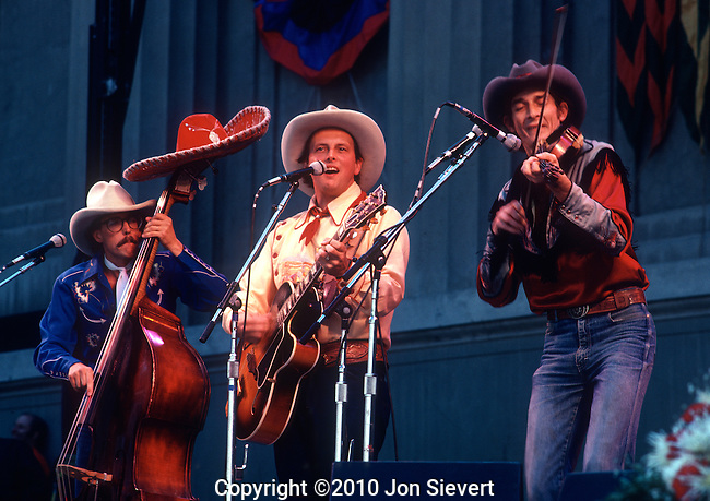 Riders in the Sky. Too Slim, Ranger Doug Greene, Woody Paul, Dec 1981. For thirty years Riders In The Sky have been keepers of the flame passed on by the Sons of the Pioneers, Gene Autry and Roy Rogers, reviving and revitalizing the genre. They have become modern-day icons by branding the genre with their own legendary wacky humor and way-out Western wit. Riders In The Sky are exceptional not just in the sense that their music is of superlative standards (they are the ONLY exclusively Western artist to have won a Grammy, and Riders have won two).