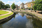 Little Ouse River in Thetford, Norfolk, England, UK