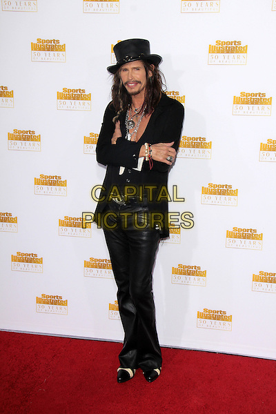 HOLLYWOOD, CA - January 14: Steven Tyler at the NBC And Time Inc. Celebrattion for the 50th Anniversary Of Sports Illustrated Swimsuit Issue, Dolby Theater, Hollywood,  January 14, 2014. <br /> CAP/MPI/JO<br /> &copy;Janice Ogata/MPI/Capital Pictures