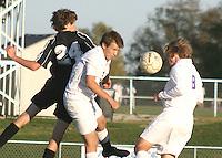 Boys Varsity Soccer vs Cardinal Ritter 10-5-10