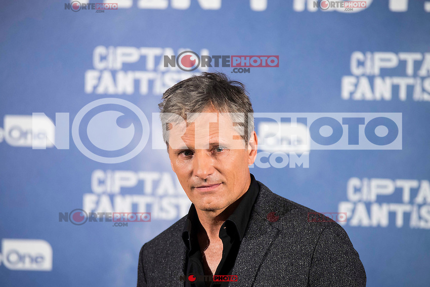 "American actor Viggo Mortensen attends to the presentation of the film ""Captain Fantastic"" at Ursa Hotel in Madrid. September 11, Spain. 2016. (ALTERPHOTOS/BorjaB.Hojas) NORTEPHOTO.COM"