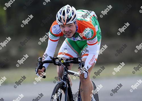 2011-04-12 / Wielrennen / seizoen 2011 / PK Tijdrijden / Tom Vermeiren..Foto: Mpics