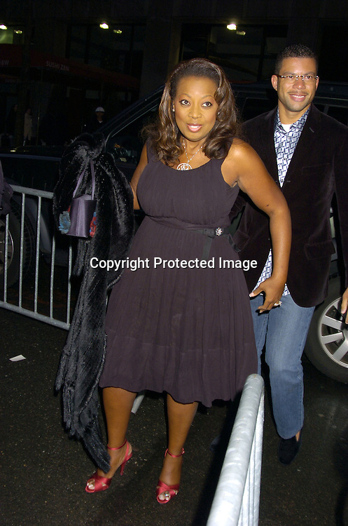 Star Jones Reynolds and Al Reynolds ..at the Broadway Opening of Julius Caesar on April 3, 2005 at the Belasco Theatre. ..Photo by Robin Platzer, Twin Images