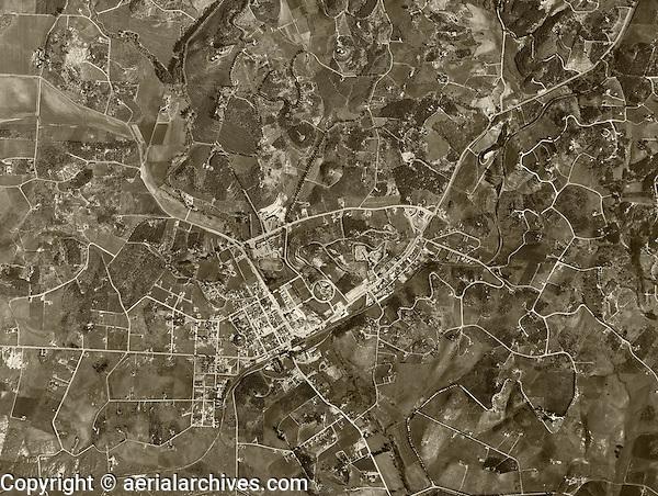 historical aerial photograph Vista, San Diego county, California, 1946