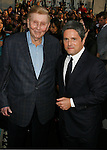"""HOLLYWOOD, CA. - April 30: Sumner Redstone and Brad Grey arrive at the Los Angeles premiere of """"Star Trek"""" at the Grauman's Chinese Theater on April 30, 2009 in Hollywood, California.a"""
