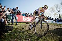 Nikki Harris (GBR/Telenet-Fidea)<br /> <br /> Koppenbergcross 2014