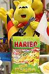 Apr. 8, 2010 - Tokyo, Japan - Haribo's gummi candies are on display during the Dessert Sweet & Drink Festival 2010 at Tokyo Big Sight, on April 8, 2010. Organized by the Japan Food Journal and the All Japan Confectionery Association, the event will run April 8-9 and 65,000 trade professionals are expected to attend.
