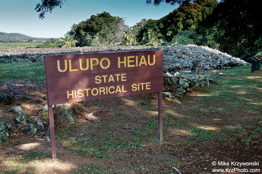 Ulupo Heiau, Kailua, Oahu