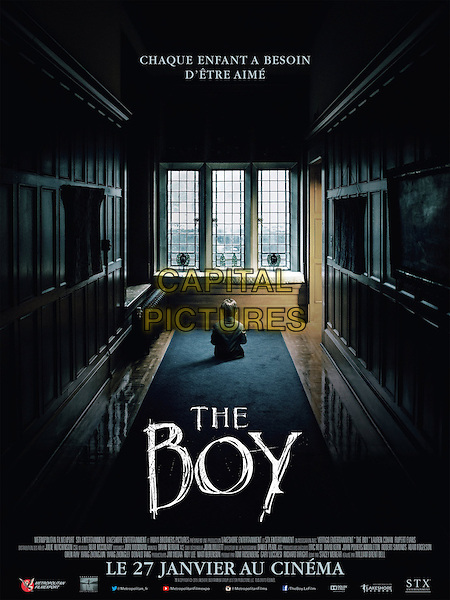The Boy (2016)<br /> POSTER ART<br /> *Filmstill - Editorial Use Only*<br /> CAP/KFS<br /> Image supplied by Capital Pictures