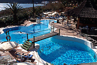 Spanien, Kanarische Inseln, Gomera, Hotel Jardin Tecina an der Playa Santiago