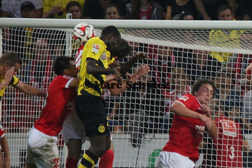 Kopfballchance Adrian Ramos (BVB) - 1. FSV Mainz 05 vs. Borussia Dortmund, Coface Arena