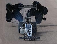 Feb 21, 2015; Chandler, AZ, USA; NHRA top fuel driver Shawn Langdon during qualifying for the Carquest Nationals at Wild Horse Pass Motorsports Park. Mandatory Credit: Mark J. Rebilas-