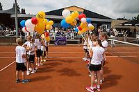 Simpeled, Netherlands, 19 June, 2016, Tennis, Playoffs Eredivisie Men, Presentatien teams<br /> Photo: Henk Koster/tennisimages.com