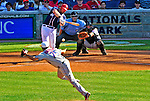 4 July 2010: Washington Nationals first baseman Adam Dunn in his 9th inning plate appearance against the New York Mets at Nationals Park in Washington, DC. The Mets defeated the Nationals 9-5, splitting their 4-game series. Mandatory Credit: Ed Wolfstein Photo
