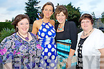Pictured at the 20th anniversary of the Department of Justice in Killarney at the Brehon Hotel, Killarney on Friday night were Mags O'Sullivan, Nora Flynn, Kay Parker and Kathy Ivory.
