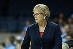 11 November 2013: Tennessee head coach Holly Warlick. The University of North Carolina Tar Heels played the University of Tennessee Lady Vols in an NCAA Division I women's basketball game at Carmichael Arena in Chapel Hill, North Carolina. Tennessee won the game 81-65.