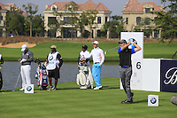Ross Fisher (ENG) tees off the 6th tee during Sunday's Final Round of the 2014 BMW Masters held at Lake Malaren, Shanghai, China. 2nd November 2014.<br /> Picture: Eoin Clarke www.golffile.ie