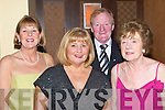 LOCAL SUPPORT: Locals from Tralee who supported the Lee Strand annual Social in the Brandon Hotel Conference Centre, Tralee on Saturday night were l-r: Patsy O'Connor, Joan O'Connor, Mike Fox O'Connor and Alice Tiernan.   Copyright Kerry's Eye 2008
