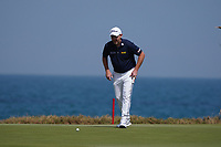 Stephen Gallacher (SCO) on the 9th during Round 3 of the Oman Open 2020 at the Al Mouj Golf Club, Muscat, Oman . 29/02/2020<br /> Picture: Golffile   Thos Caffrey<br /> <br /> <br /> All photo usage must carry mandatory copyright credit (© Golffile   Thos Caffrey)