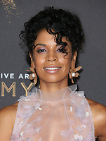 LOS ANGELES, CA - SEPTEMBER 09: Susan Kelechi Watson, at the 2017 Creative Arts Emmy Awards at Microsoft Theater on September 9, 2017 in Los Angeles, California. <br /> CAP/MPIFS<br /> &copy;MPIFS/Capital Pictures