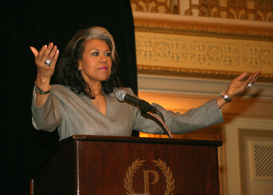 Michelle Flowers Welch was awarded the Publicity Club of Chicago's 2012 Lifetime Achievement Award in May 2012 at PCC's Golden Trumpet Awards dinner. [Photo by The Kring Group (formerly Kring Lerner Group)]