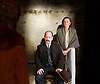 Strife <br /> by John Galsworthy<br /> directed by Bertie Carvel <br /> at Minerva theatre, Chichester, London, Great Britain <br /> Press photocall <br /> 16th August 2016 <br /> <br /> <br /> Ian Hughes as David Roberts<br /> Lucy Black as Annie Roberts<br /> <br /> Photograph by Elliott Franks <br /> Image licensed to Elliott Franks Photography Services