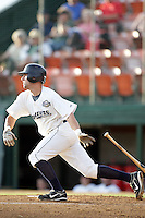 August 12, 2009: Mike Roberts of the Helena Brewers. The Helena Brewers are the Pioneer League affiliate of the Milwaukee Brewers. Photo by: Chris Proctor/Four Seam Images