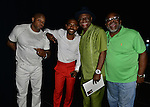 MIAMI, FL - MAY 29: Steve Brown, Lil Duval, Michael Colyar and Carl Sams backstage at the 9th Annual Memorial Weekend Comedy Festival at James L Knight Center on May 29, 2016 in Miami, Florida. ( Photo by Johnny Louis / jlnphotography.com )