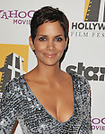 BEVERLY HILLS, CA. - October 25: Halle Berry attends the 14th Annual Hollywood Awards Gala Presented By Starz at The Beverly Hilton hotel on October 25, 2010 in Beverly Hills, California.