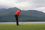 Peter Lawrie (IRL) takes his putt on the 4th green during Day 3 Saturday of The Irish Open presented by Discover Ireland at Killarney Golf & Fishing Club on 30th July 2011 (Photo Fran Caffrey/www.golffile.ie)