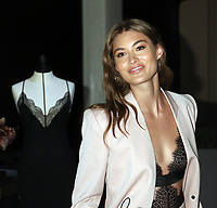 August  08, 2019.Grace Elizabeth Victoria's Secret Angel launch Fall Collection at Victoria's Secret 5th Avenue in New York. August 08, 2019  <br /> CAP/MPI/RW<br /> ©RW/MPI/Capital Pictures